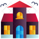 Haunted House Horror House Building Icon