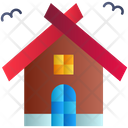 Haunted House Horror House Halloween Icon