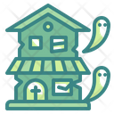 Haunted House Ghost Horror Icon