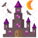 Haunted House Architecture And City Phantoms Icon