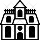 Haunted House Fortress Fantasy Icon