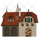 Haunted House Horror House Creepy House Icon