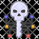 Haunted Key Hacker Key Skull Key Icon