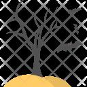 Tree Dead Concept Icon