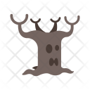 Scary Tree Haunted Icon
