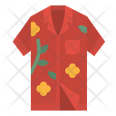Hawaii Shirt Garment Icon