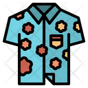 Hawaiian Shirt Icon