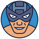 Hawkeye Warrior Superhero Icon
