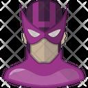 Hawkeye Comic Character Icon