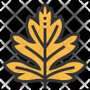 Hawthorn Leaf Greenery Icon
