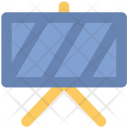 Hazard Banner Construction Icon