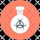 Hazard Chemical Flask Icon