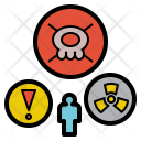 Hazard Danger Poison Icon