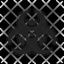Hazard Danger Toxic Icon
