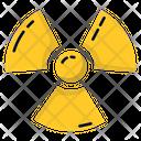 Hazard Hazardous Nuclear Sign Icon