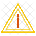 Hazard Road Warning Icon