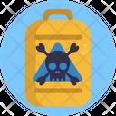 Hazard Toxic Waste Icon
