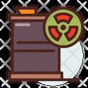 Hazardous Can Barrel Hazardous Icon