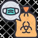 Hazardous Waste Contaminated Icon