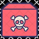 Hazardous Goods Caution Icon