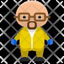 Hazardous worker Icon