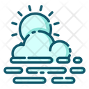 Haze Foggy Weather Fog Icon