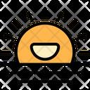 Haze Eather Sun Icon