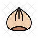 Hazelnut Dryfruit Farming Icon