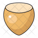 Hazelnut Dry Fruit Icon