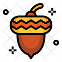 Hazelnut Nut Food Icon