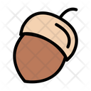 Hazelnut Dryfruit Food Icon