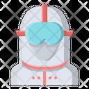 Coronavirus Hazmat Suit Icon