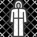 Cloak Hazmat Suit Biosecurity Suit Icon