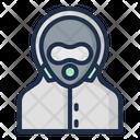 Hazmat Acid Rain Nuclear Icon