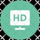 Hd Screen Television Icon