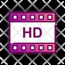 Hd Hd Video Video Reel Icon
