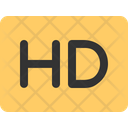 Hd Video High Icon