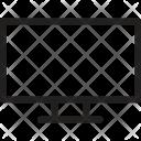 Hd Tv Led Icon