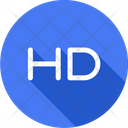 Hd Video High Icon
