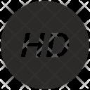 Hd High Definition Icon