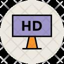 Hd Screen Tv Icon