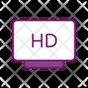 Hd Cinema Monitor Screen Icon