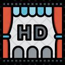 Hd Film Video Player Multimedia Option Icon