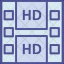 Hd Movie Film Cartridge Film Roll Icon