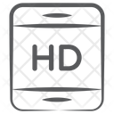 Hd Screen High Definition Screen Mobile Screen Icon