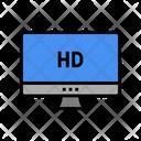 Hd Resolution Computer Icon