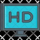 Hd Film Tv Icon