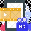 Hd Video Hd Movie Hd Film Icon