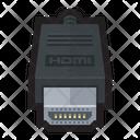 Hdmi High Definition Icon