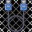 Hdmi Cable Wire Icon